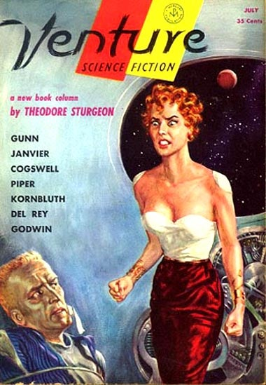 Illustration for article titled Someone Is Blogging Late 1950s-Early 1960s Science Fiction In Real Time
