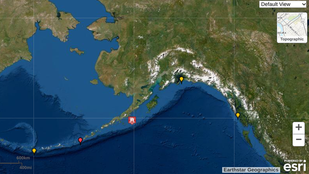 Tsunami Warnings Lifted After 8. 2 Earthquake 60 Miles Off Alaska