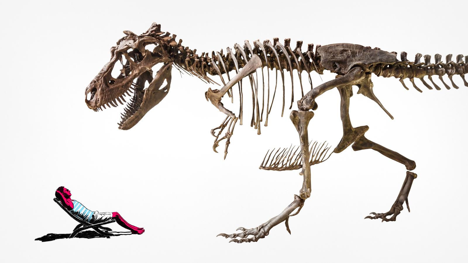 Hungry Dinosaurs May Be the Reason Humans Need Sunscreen