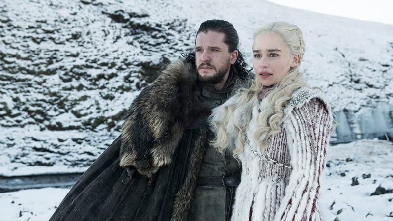 The happy couple are back in the final season of Game of Thrones.