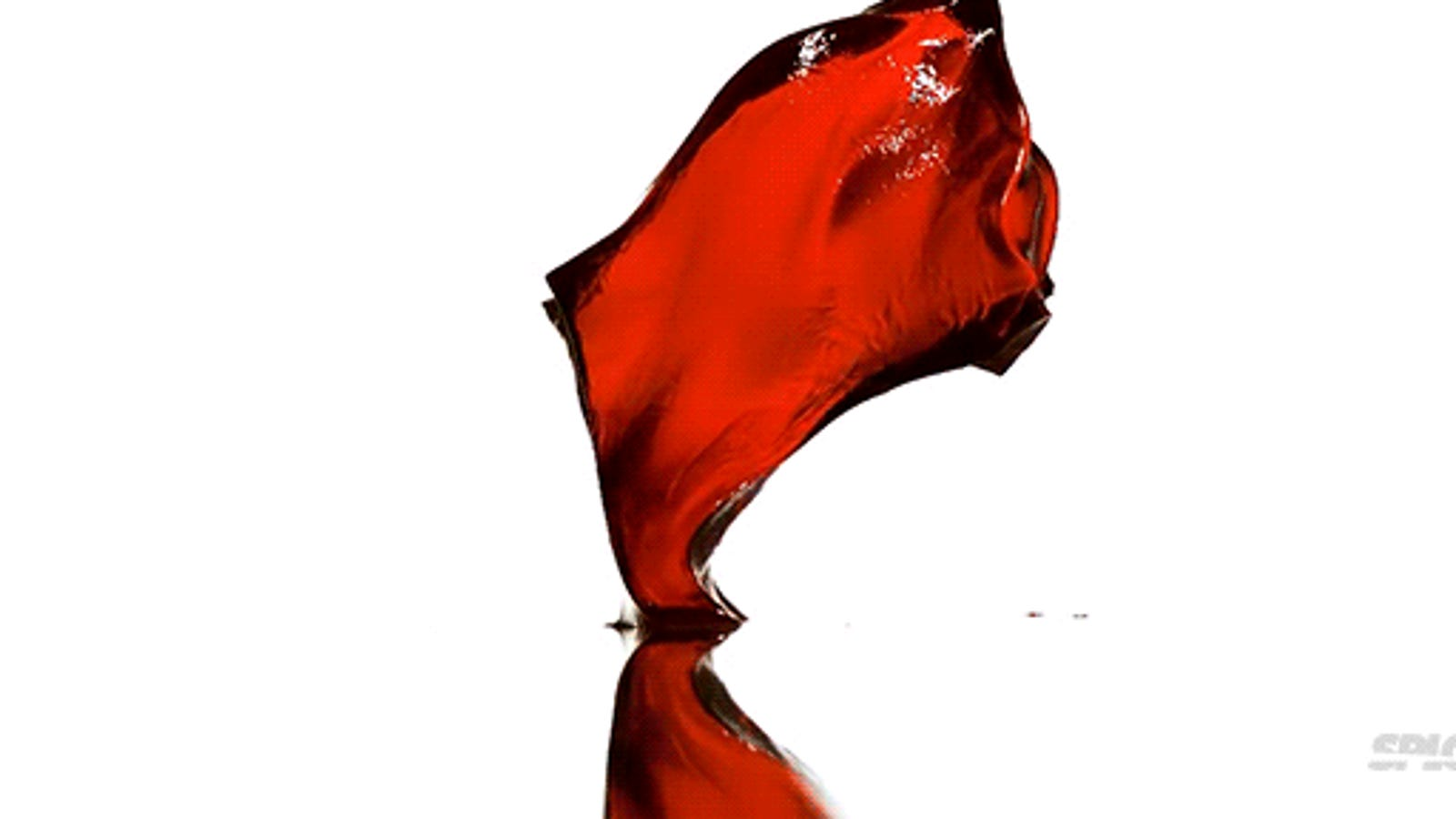 Watching Jell-O bounce in slow motion is strangely mesmerizing
