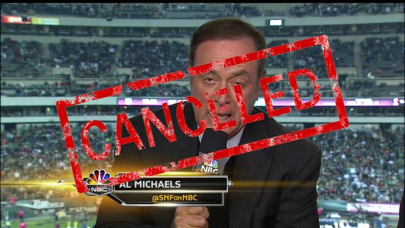 NFL Cancels 'Sunday Night Football.' Here's the Reason Why