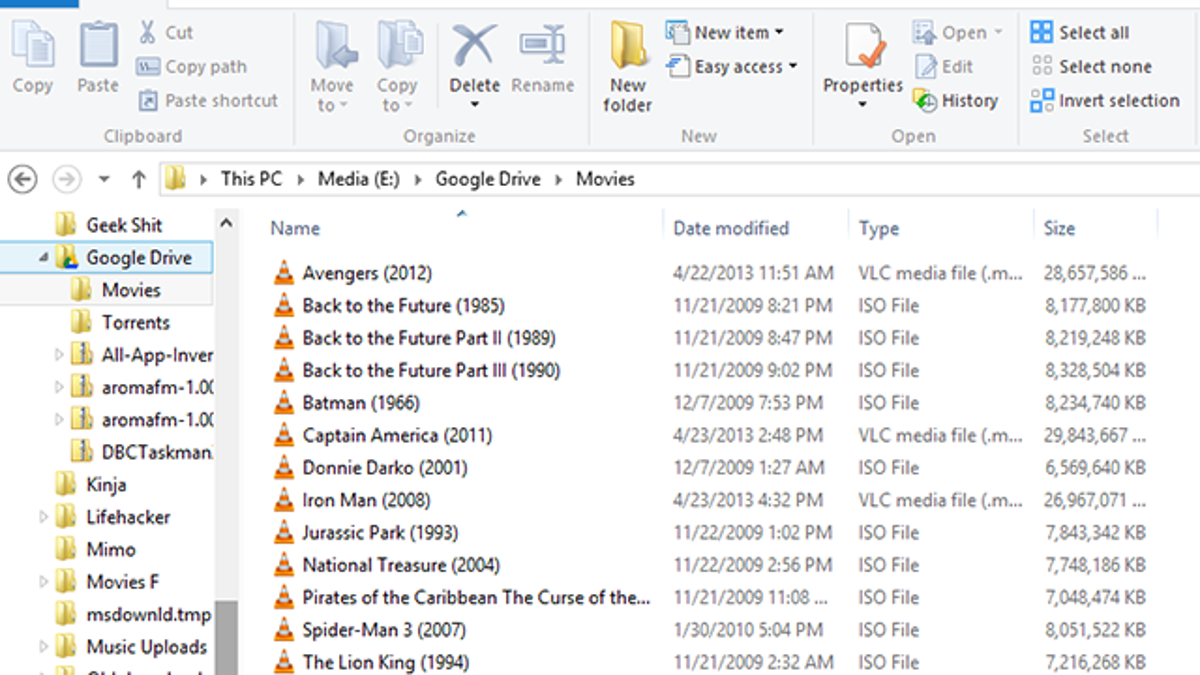 how to download movies onto google drive
