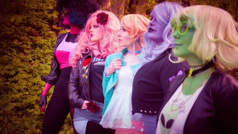 I Am In Love With This Punkified Steven Universe Cosplay