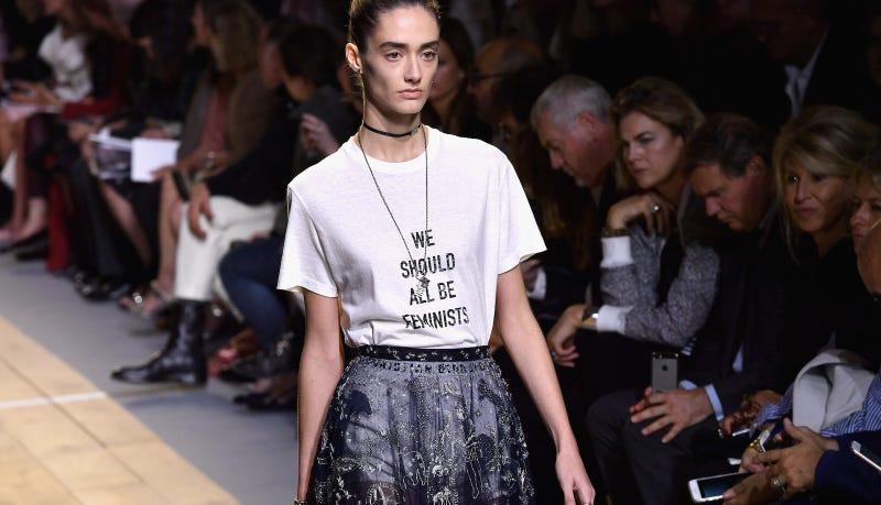 0208f06810599 Dior's First Woman Creative Director Maria Grazia Chiuri Presents a ...