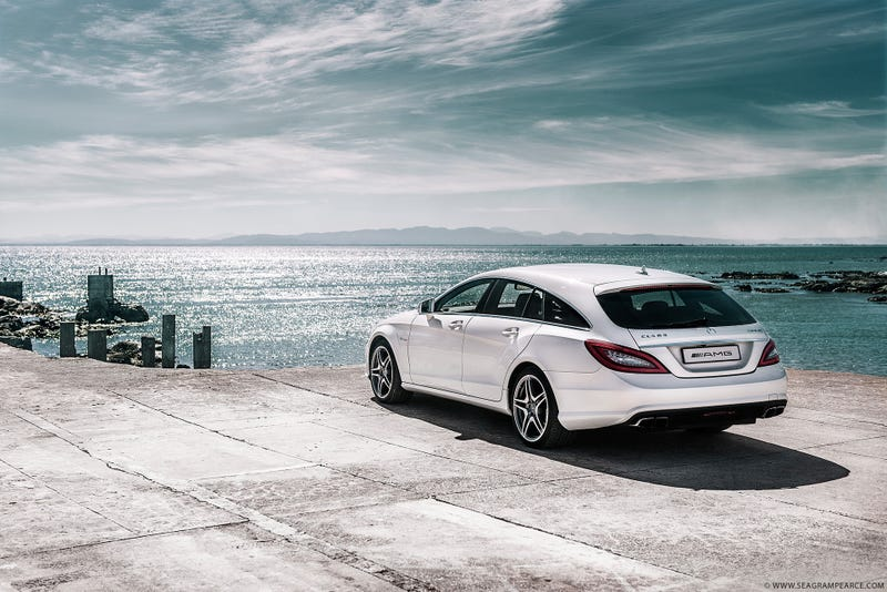 Illustration for article titled The Mercedes CLS63 Shooting Brake Is Wagon Porn Of The Highest Order