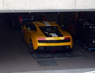 Illustration for article titled Lamborghini Gallardo LP550-2 Valentino Balboni Spotted At Zurich Dealer