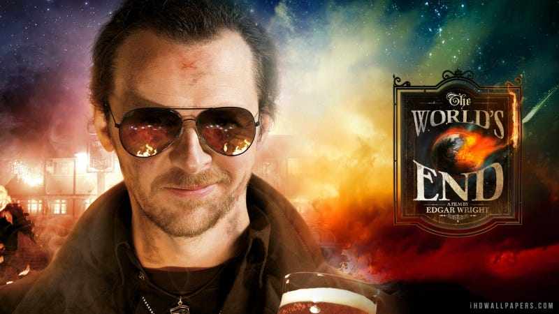Illustration for article titled Simon Pegg explains the ending of The World's End