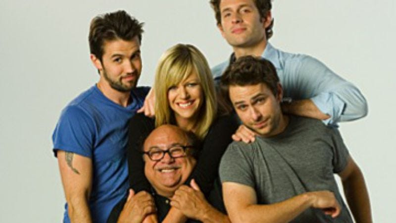 """Illustration for article titled It's Always Sunny In Philadelphia: """"The Gang Dances Their Asses Off"""""""