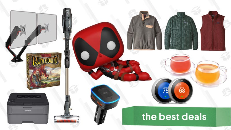 Illustration for article titled Wednesday's Best Deals: Shark Ion Vacuum, Butcher Box, Under Armour, Patagonia, and More