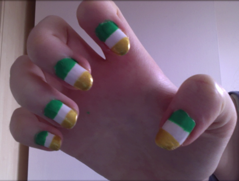 Illustration for article titled Patrick's Day Nails!