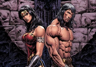 The first issue variant cover by Liam Sharp.