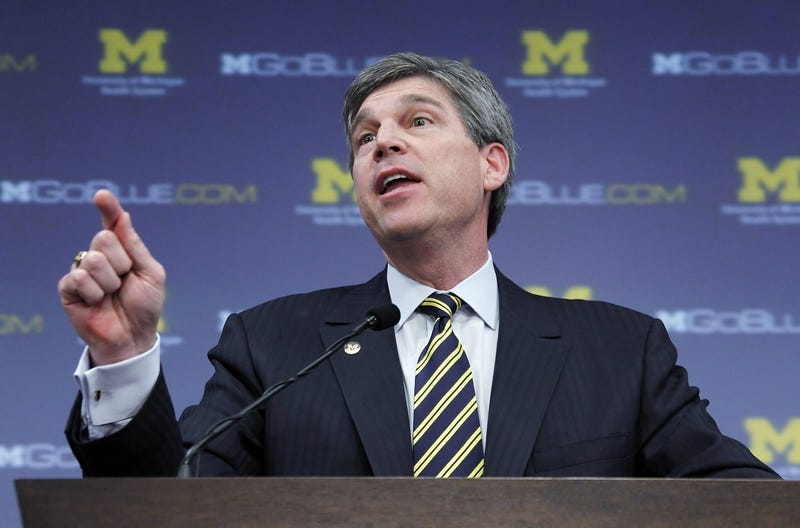 Illustration for article titled Report: Michigan's Incompetent Moron AD Set To Resign
