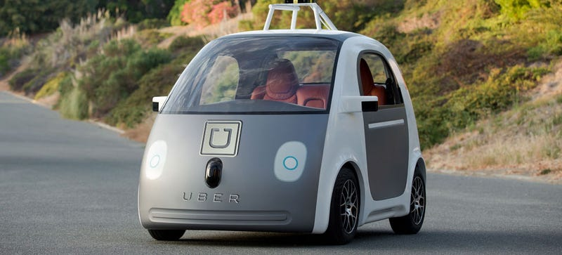 Illustration for article titled Of Course Uber Is Planning To Make All Its Cars Autonomous
