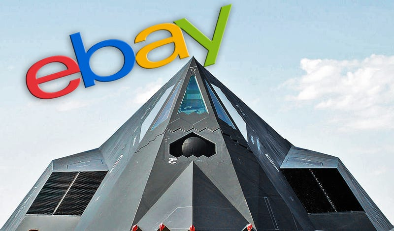 EBay User Claims To Be Selling Part Of The Only Stealth F-117 Ever