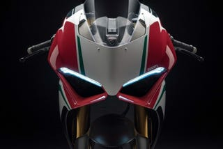 Illustration for article titled Ducati V4 Revealed