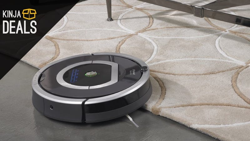Illustration for article titled Save $230 On This High End Roomba, and Never Vacuum Again