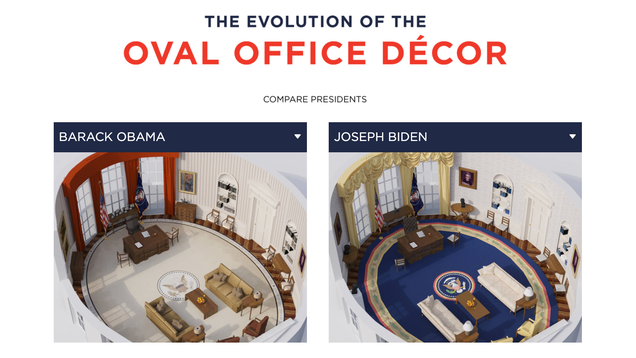 Compare Which Presidents Had the Tackiest Office Decor
