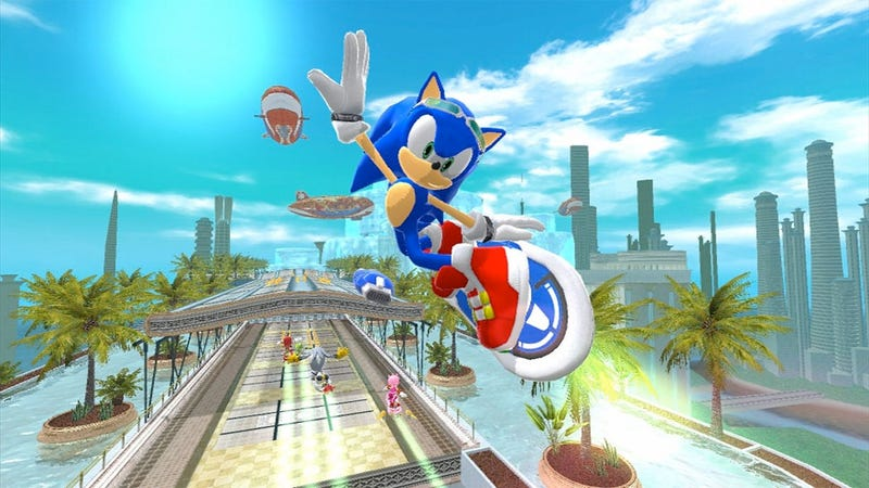 Sonic Free Riders is a cautionary tale about the importance of controls in  gaming. Make a game interesting, give it solid graphics and some unique  hooks, ...