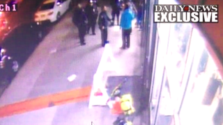 Officers confronting Raymond RomeroScreenshot via the New York Daily News