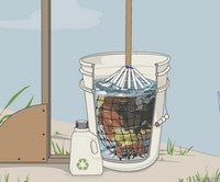 Illustration for article titled Build a Simple Off-Grid Laundry Machine