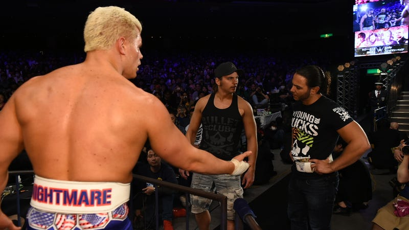 Cody Rhodes and The Young Bucks real-life relationship is as strong as their in-ring one is tenuous.