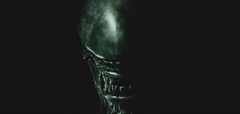 The First Alien: Covenant Poster Is Simple and Scary