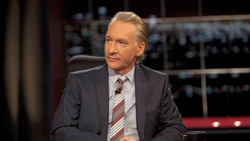 Illustration for article titled HBO renews Real Time With Bill Maher for two more seasons