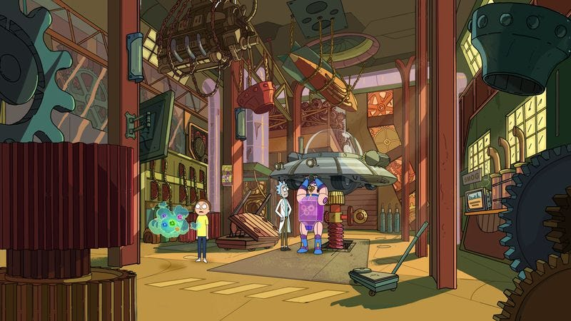 "Illustration for article titled Rick And Morty: ""Interdimensional Cable 2: Tempting Fate"""