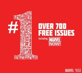 Illustration for article titled Marvel Releases 700+ Issue #1s For Free Download
