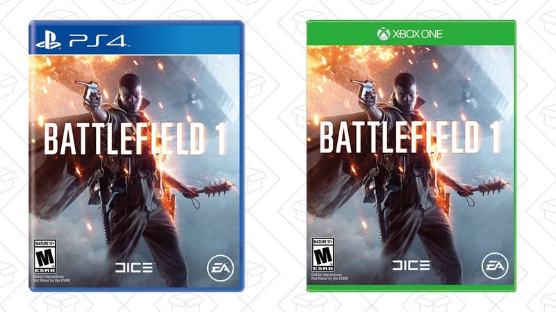 Battlefield 1 for PS4, $35 | Battlefield 1 for Xbox One, $35