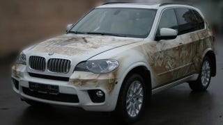 Illustration for article titled Ridiculous Airbrushed BMW X5 Is A Truly Russian Creation
