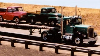 Illustration for article titled 40 Burly Antique Trucks Will Convoy 2,000 Miles To Celebrate Historic Route 66