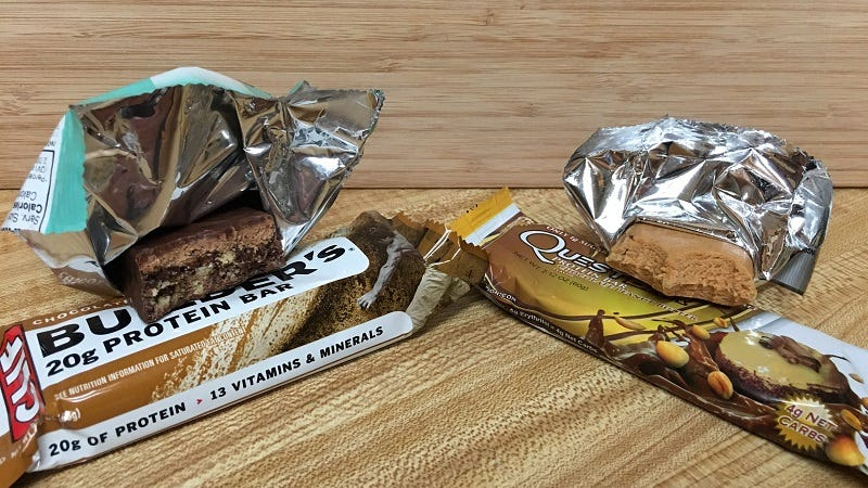 Power Protein Bar Showdown: Quest Bar vs  Clif Builder's Bar