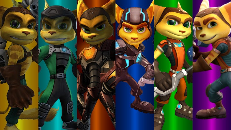 Illustration for article titled Ratchet & Clank, Ranked