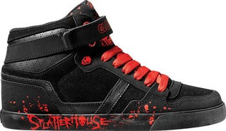 Illustration for article titled Splatterhouse Gets Appropriately Splattered Shoes