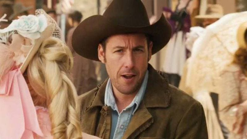 Illustration for article titled Adam Sandler calls that whole Native American thing a hilarious misunderstanding