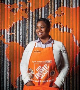 Ann-Marie Campbell, executive vice president of Home Depot's U.S. storesJamaicans.com screenshot