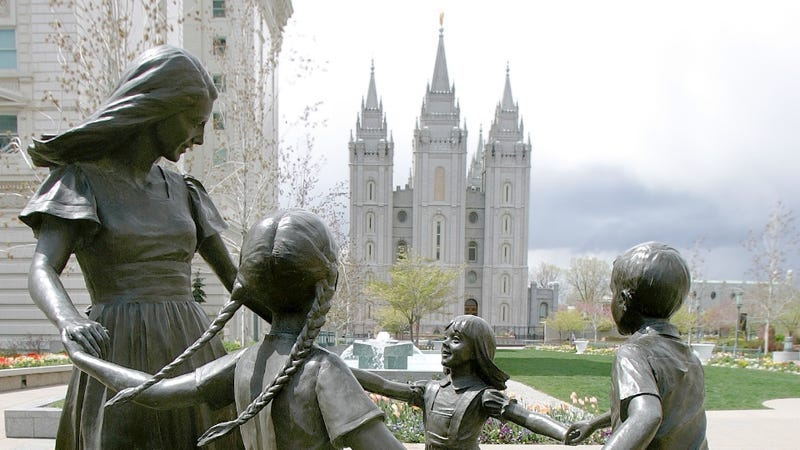 Illustration for article titled Mormon Women Are 'Admired' But Still Not Equal to Men
