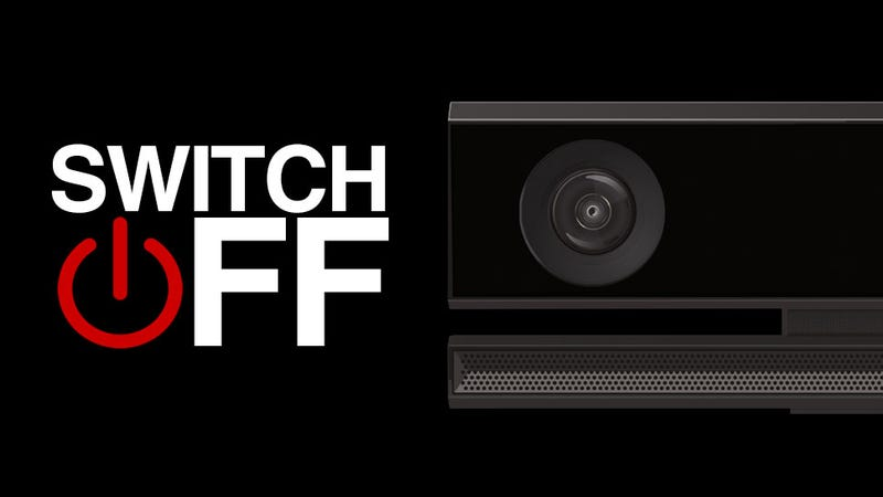 Illustration for article titled Xbox One's Kinect Can Turn Off, Microsoft Says, Noting Privacy Worries