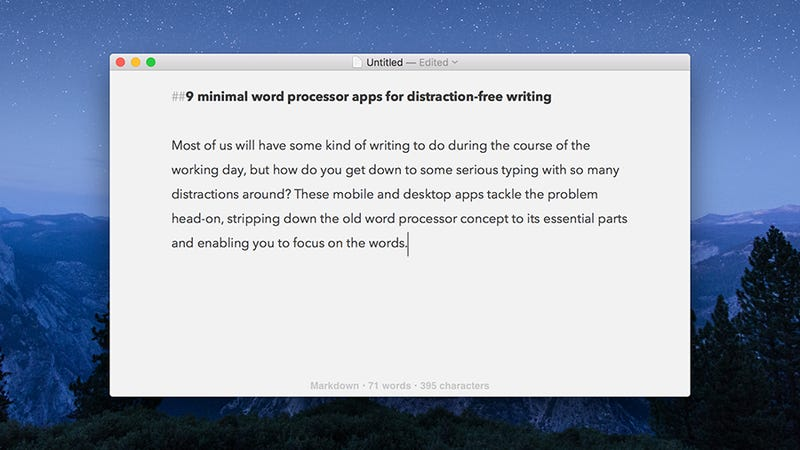 Byword: One of the best iOS apps for distraction-free writing