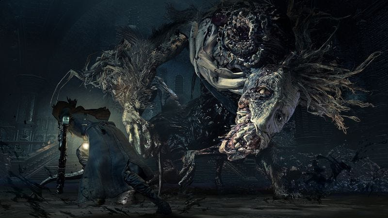Illustration for article titled Upcoming expansion The Old Hunters will somehow make Bloodborne more nightmarish