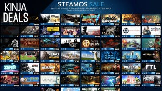 Illustration for article titled 50+ Game Steam Sale, Sony Gold Headset, $8 Blu-rays, and More Deals