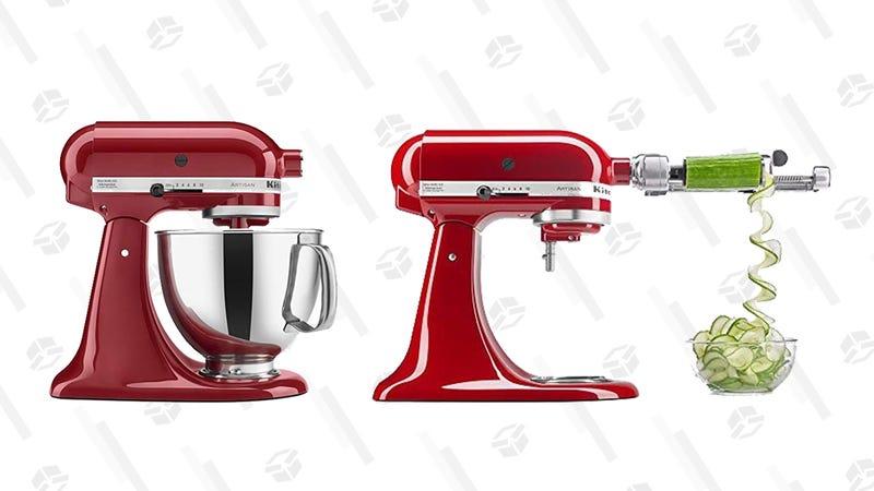 KitchenAid Stand Mixer and Spiralizer Attachment | $250 | Amazon