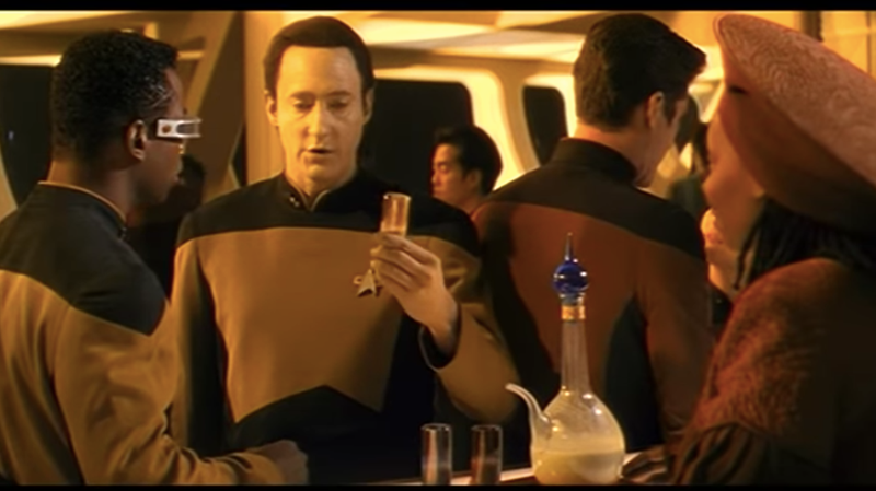Illustration for article titled This Star Trek vodka boldly goes where blah blah you get it