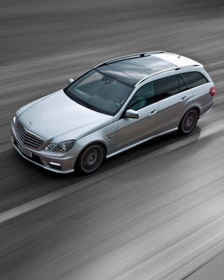 Illustration for article titled 2010 Mercedes E63 AMG Wagon: A 525 HP Family Estate