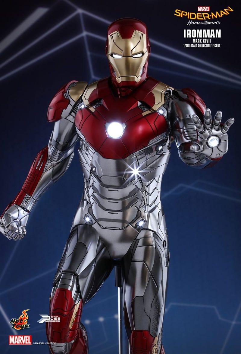 Unser bester Blick auf Iron Man's neuer Anzug von Spider-Man ...