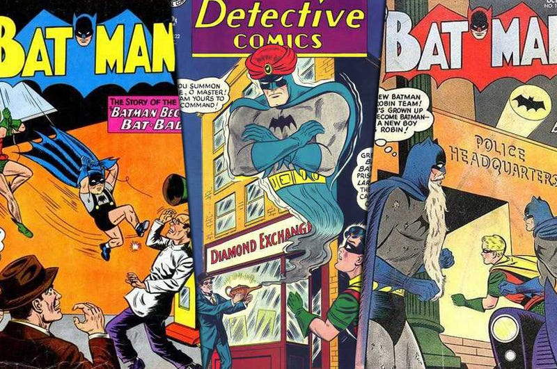 Illustration for article titled Ten Batman Stories the New Batman Movie WON'T Be Based On