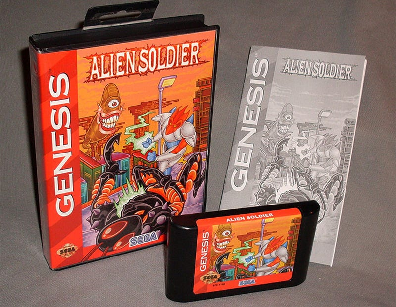 Illustration for article titled Crazed Fan Brings Classic Treasure Shooter To US Genesis