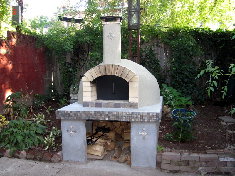 I have dreams about installing a full-on backyard kitchen complete with a  wood-fired pizza oven. Alas, those dreams have yet to come true. - How To Build A Wood-Fired Pizza Oven In Your Backyard